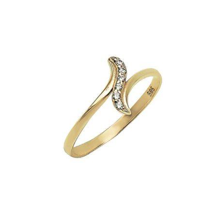 14Κ Ζιργκόν Πέτρες Χρυσό Δαχτυλίδι Γυναικείο Λευκές Πέτρες Χρυσό Δαχτυλίδι Γυναικείο Λευκές Πέτρες Χρυσό Δαχτυλίδι Γυναικείο Λευκές Πέτρες Γενέθλια Επέτειος