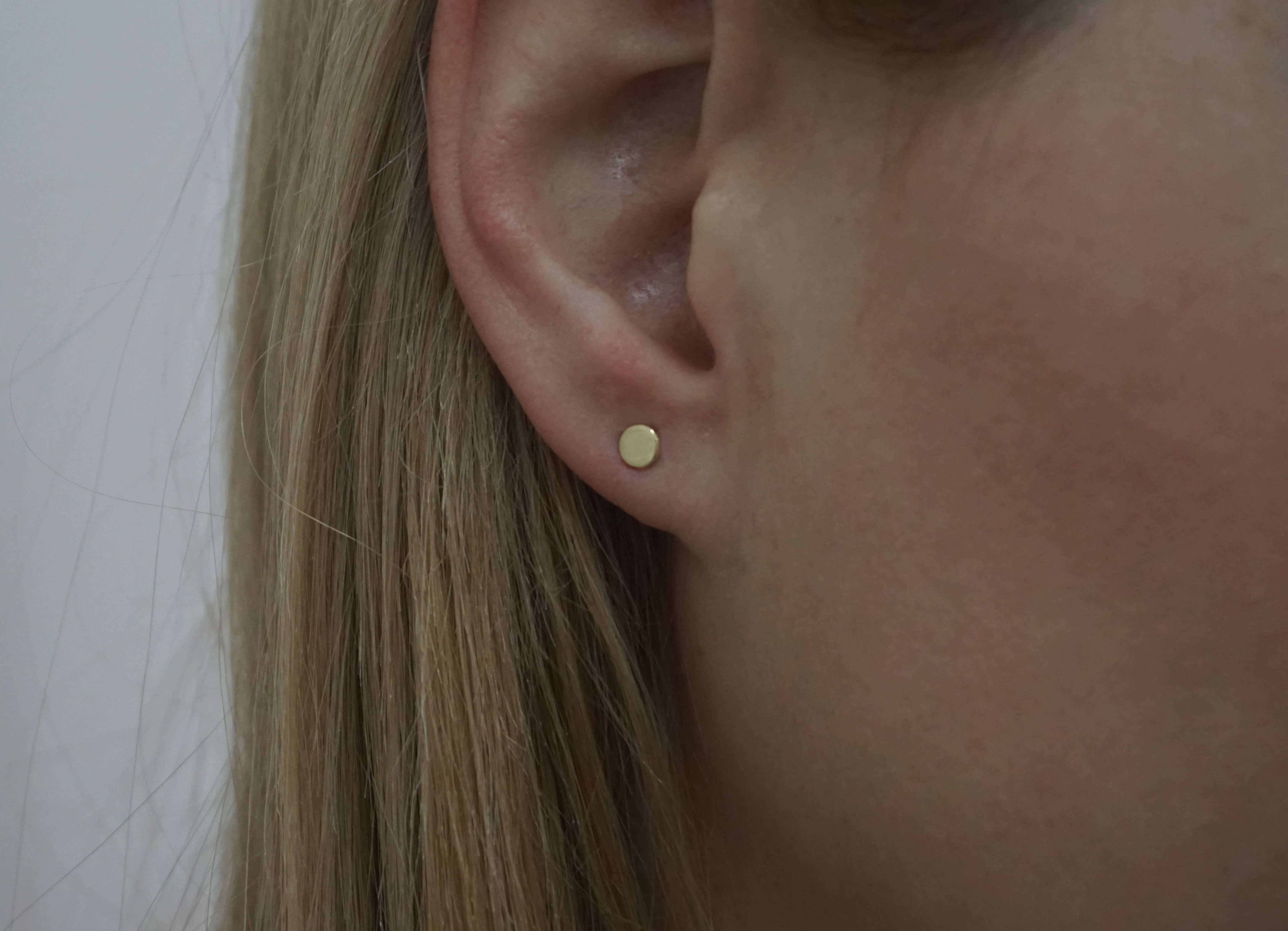 Καρφωτά Σκουλαρίκια Χρυσά Κόσμημα Γυναικεία 9Κ