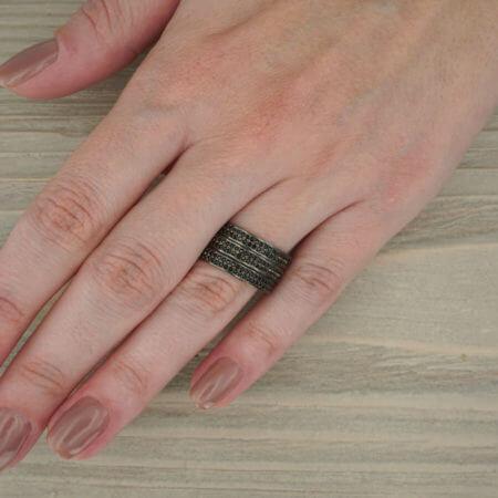 Ασημένιο Δαχτυλίδι 925 Γυναικείο Ζιργκόν
