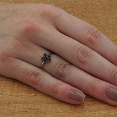 Γυναικείο Δαχτυλίδι 925 Ασημένιο Ροζ Χρυσό