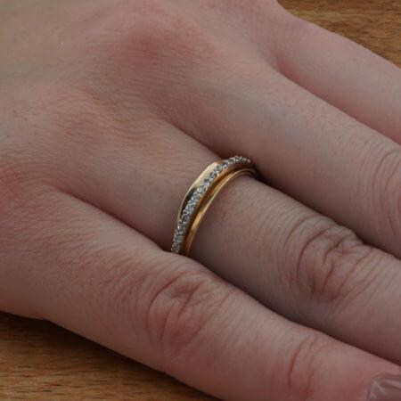 Χρυσό Γυναικείο Δαχτυλίδι 14Κ Ζιργκόν