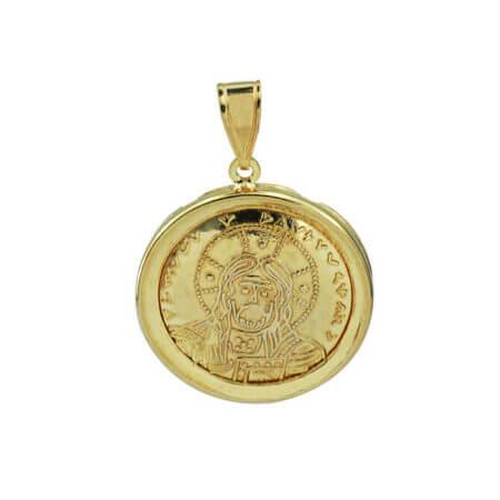 Κωνσταντινάτο Χρυσό 9Κ Διπλής Όψεως