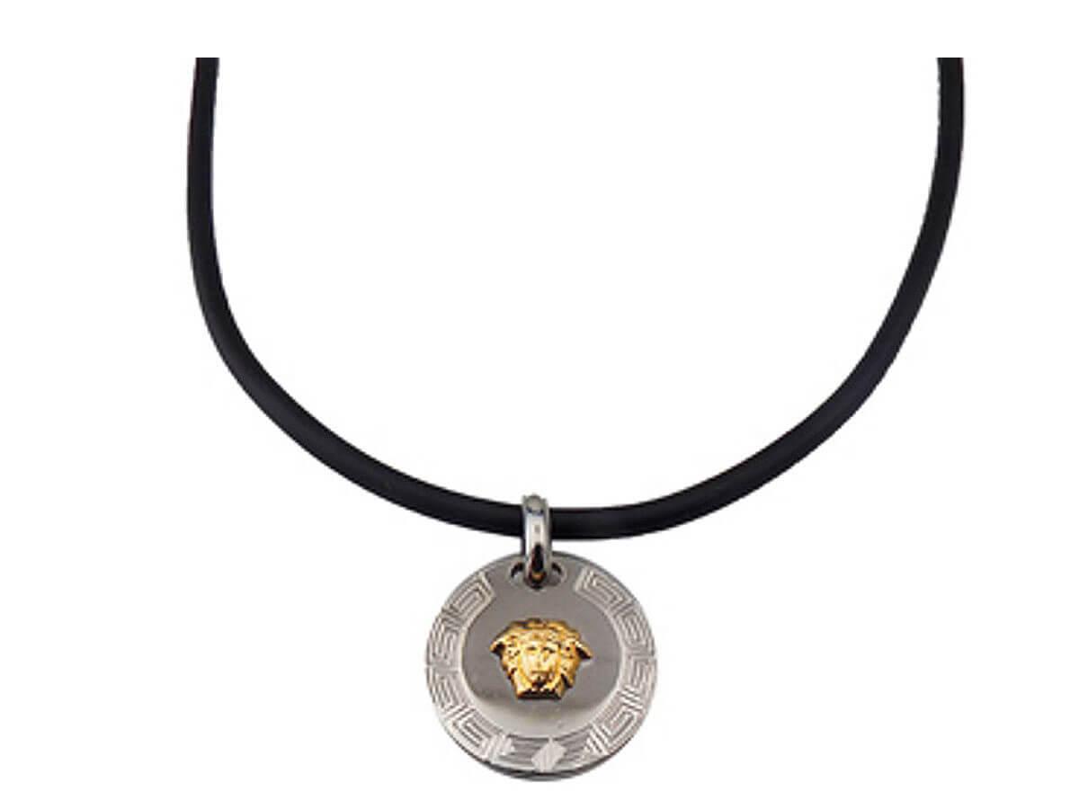 Κρεμαστό Γυναικείο Ανδρικό Ατσαλένιο Χρυσό 14Κ Κορδόνι Ανοξείδωτο Ατσάλι