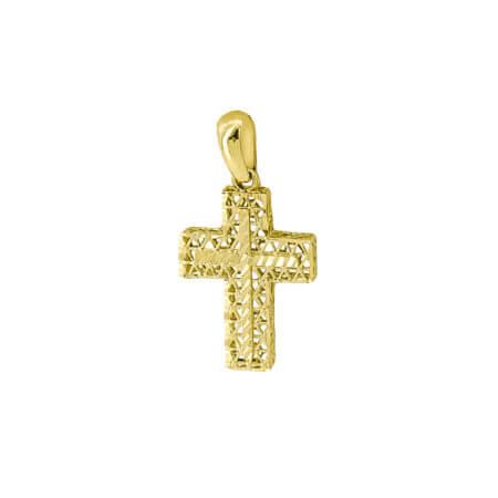 Χρυσός Βαπτιστικός Σταυρός 14Κ Γυναικείος