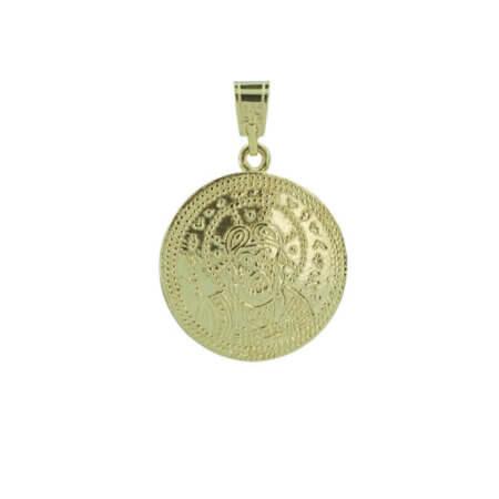 Χρυσό Κωνσταντινάτο Μενταγιόν Χριστός 9Κ
