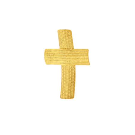 Χειροποίητος Σταυρός 14Κ Χρυσός Αρραβώνας Βάπτιση