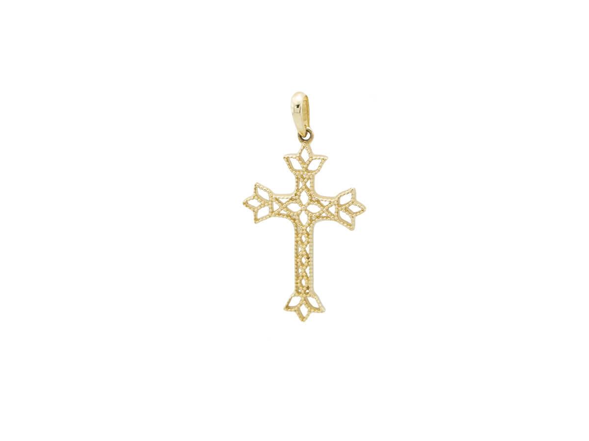 Γυναικείος Χρυσός Σταυρός Βάπτισης Αρραβώνα 14Κ