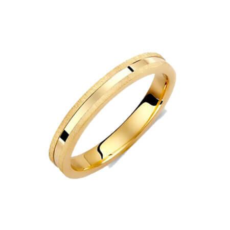 Βέρες Γάμου Κίτρινο Χρυσό 14 Καράτια Γυναικείες Ανδρικές