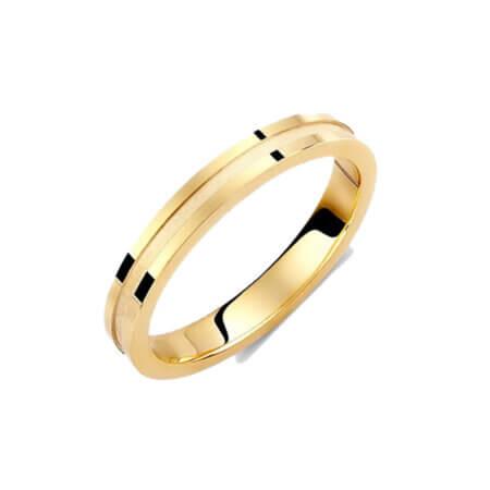 Βέρες Γάμου Χρυσές Λεπτές 14Κ Γυναικείες Ανδρικές