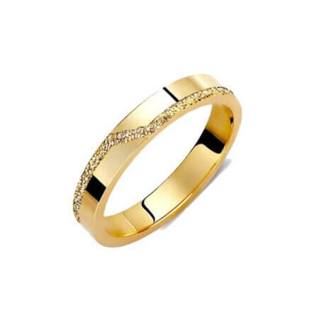 Βέρες Γάμου Χρυσό 14 Καράτια Μοντέρνες Γυναικείες Ανδρικές