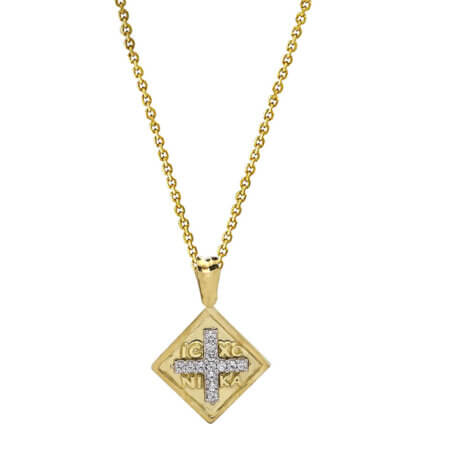 Κωνσταντινάτο Με Αλυσίδα Ασήμι 925