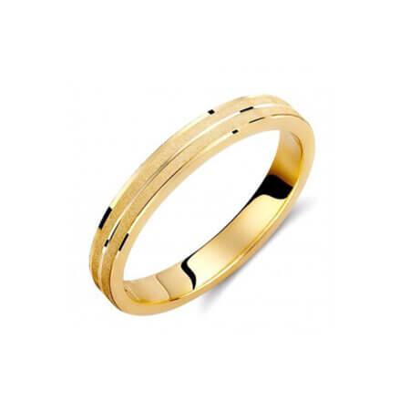 Χρυσές Βέρες Γάμου Μοντέρνες 14 Καρατίων
