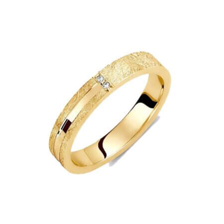 Χρυσές Βέρες με Ζιργκόν Πέτρες 14Κ Γάμου Αρραβώνα