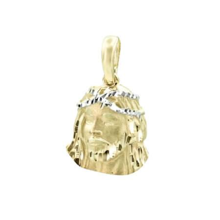 Κωνσταντινάτο Φυλαχτό Κρεμαστό Χρυσό 14Κ Ιησούς
