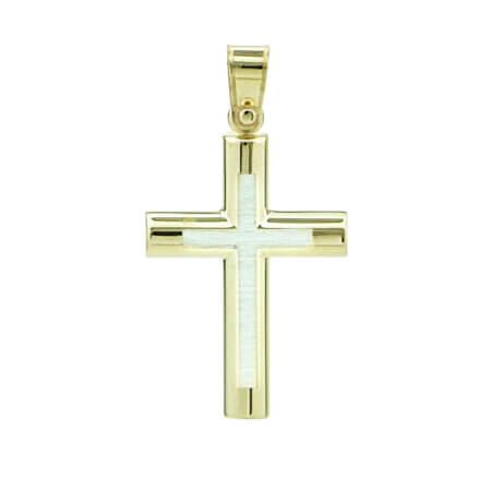 Σταυρός Χρυσός Βαπτιστικός 9 Καρατίων