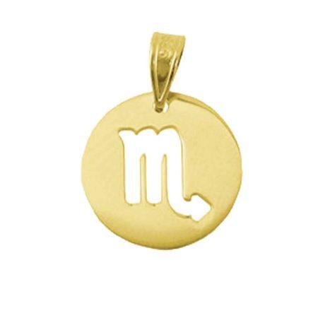 Χρυσό Κόσμημα Ζώδιο Σκορπιός 9Κ