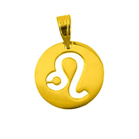 Ζώδιο Λέων Χρυσό Κρεμαστό 9Κ