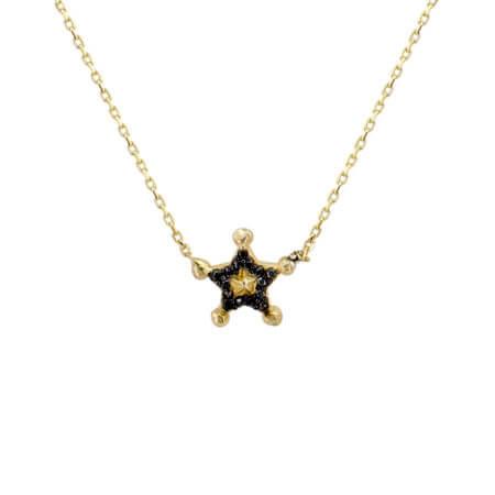 Ασημένιο Μενταγιόν Αστέρι 925