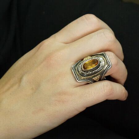 Δαχτυλίδι Με Σιτρίν