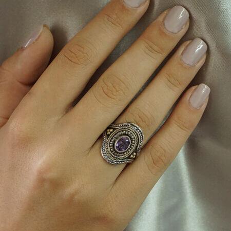 Δαχτυλίδι Χειροποίητο Χρυσό