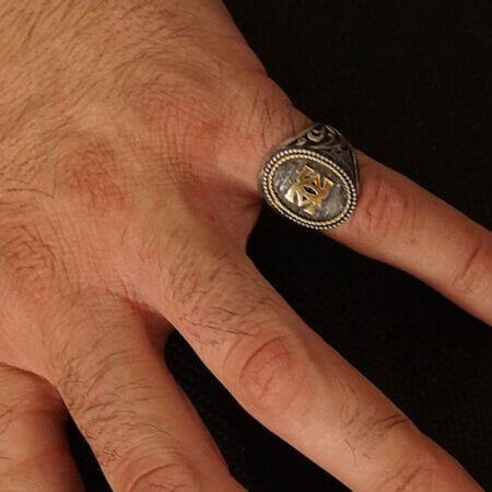 Χειροποίητο Ανδρικό Δαχτυλίδι