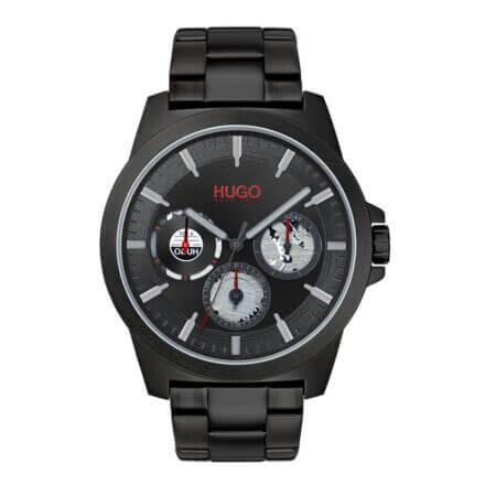 Hugo Boss Soldier Ρολόι Με Μαύρο Μπρασελέ 1530132