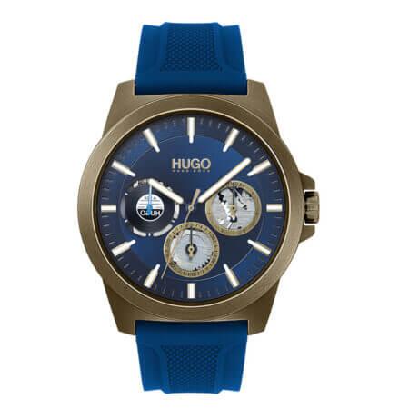 Hugo Boss Soldier Ρολόι Με Μπλε Καουτσούκ 1530130