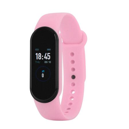 Γυναικείο Marea Smartwatch Ροζ Λουράκι Καουτσούκ B57007-7
