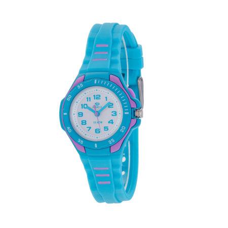 Marea Παιδικό Ρολόι Χειρός Γαλάζιο Λουράκι Καουτσούκ Unisex B25157-3