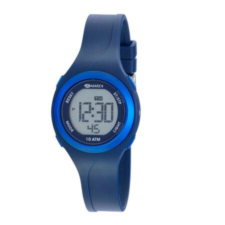 Marea Ρολόι Παιδικό Μπλε Ψηφιακό Λουράκι Καουτσούκ B40191-2