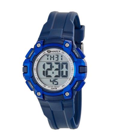 Marea Ρολόι Παιδικό Ψηφιακό Μπλε Καουτσούκ Για Αγόρια B40197-4