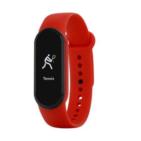 Marea Smartwatch Κόκκινο Λουράκι Καουτσούκ Unisex B57007-3