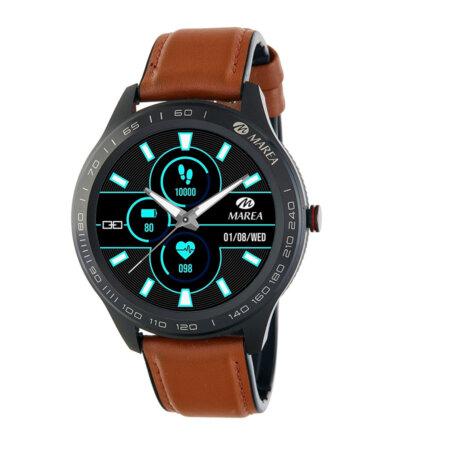 Marea Smartwatch Με Δερμάτινο Λουράκι Ταμπά B60001-5