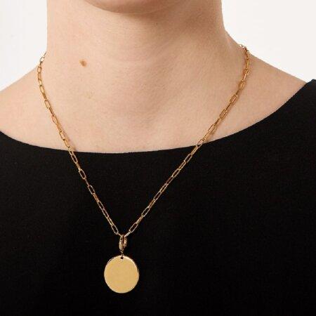 PDPAOLA Κολιέ Γυναικείο Amore Gold Ασήμι 925 Επιχρύσωμα 18Κ CO01-088-U