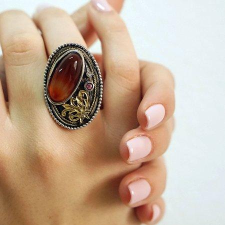 Χειροποίητο Δαχτυλίδι 925-18Κ