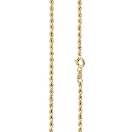 Χρυσή Αλυσίδα Στριφτή 9 Καράτια Μήκους 45cm