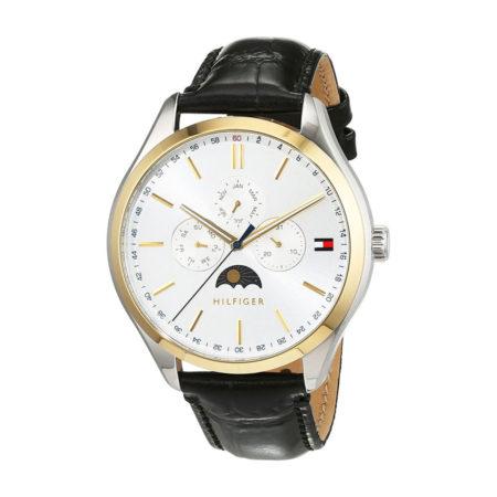 Tommy Hilfiger Ανδρικό Ρολόι Με Μαύρο Λουράκι 1791305