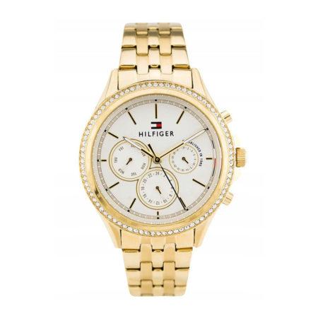 Tommy Hilfiger Ari Multifunction Crystals Gold Stainless Steel Bracelet 1781977
