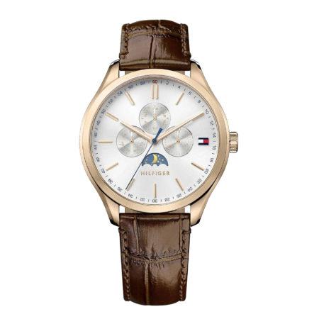 Ρολόι Tommy Hilfiger Oliver Mens Brown Leather Strap (1791306)