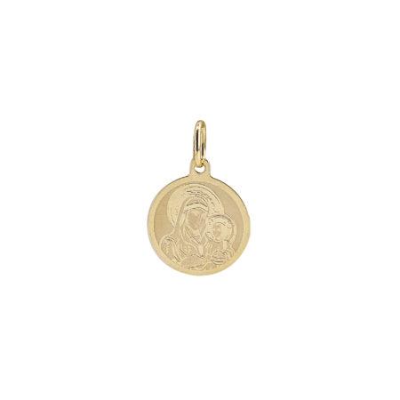 Χρυσό Κόσμημα Με Την Παναγία Για Φυλαχτό 14Κ GD105